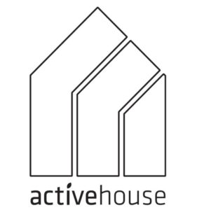 Active House Label Black and White logo