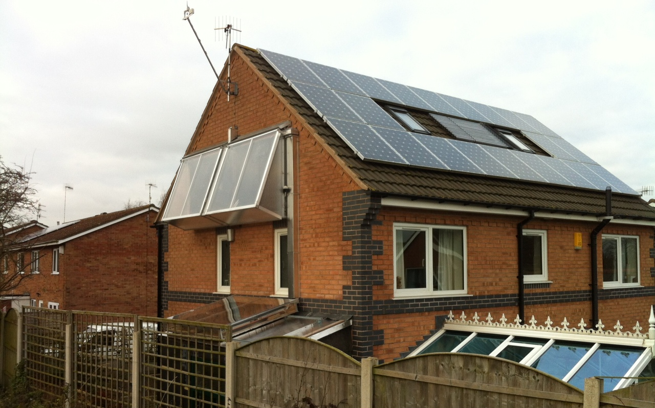 Peveril Solar House Active House