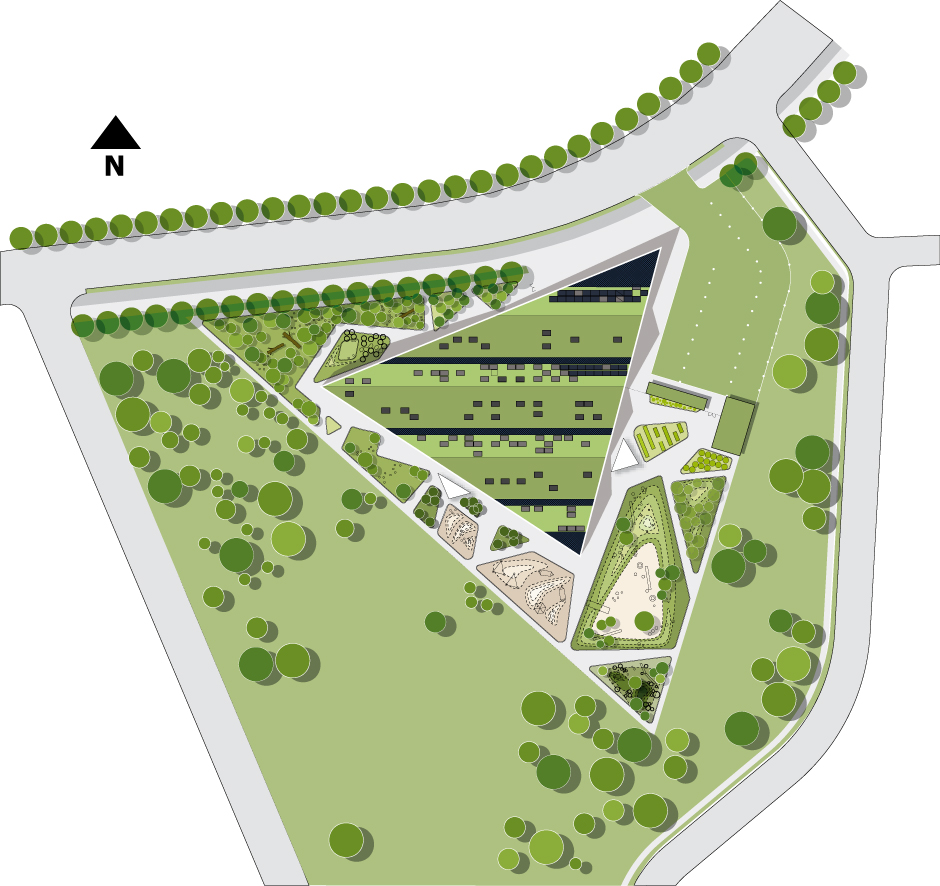 Solhuset denmark s most climate friendly nursery for House site plan